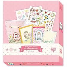 DJECO doos met schrijfboekjes & stickers Rosalie
