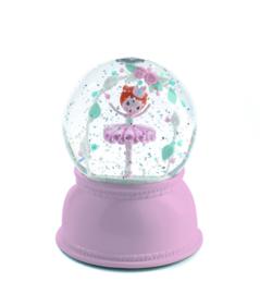 DJECO sneeuwbol nachtlampje - ballerina