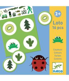 DJECO Lotto Kleuren  -  2 jr.  +