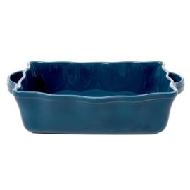 RICE ovenschaal - aardewerk - donkerblauw