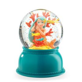 DJECO sneeuwbol nachtlampje - zeemeermin