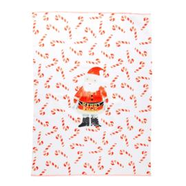 RICE theedoek - Santa print