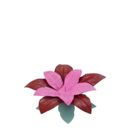 RICE metalen bloem kandelaar