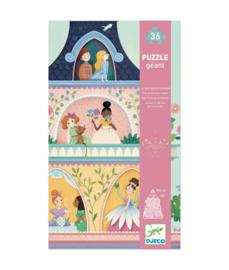 DJECO Giant Puzzel - The Princess Tower  (36 stukjes) 4 jr. +