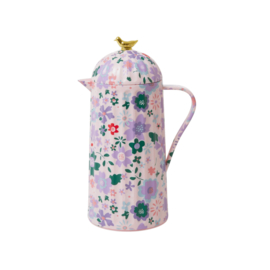 RICE thermoskan -  Pink Fall Flower print