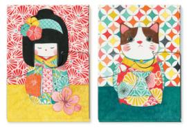 DJECO Lovely Paper - Bloc-notes Misa (set van 2)
