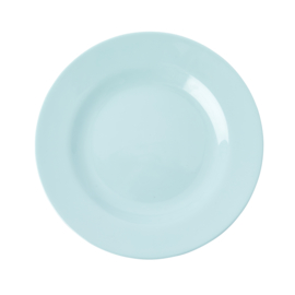 RICE melamine lunchbord - ice blue