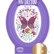 Tattoos - Big Tattoo vlinder  6 jr. +