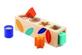 DJECO Boitabasic houten vormen puzzel 18 mnd. +