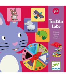 DJECO Tactilo Loto - Animals  3 jr.  +