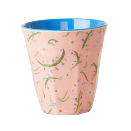 RICE beker - Delightful daisy print  (nieuwe collectie 'Choose Happy' 2021)
