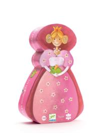 DJECO Puzzel de prinses en haar kikker (36 stukjes) 4 jr. +