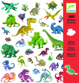 DJECO 160 stickers - thema dino's 4 jr. +