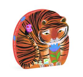 DJECO Puzzel tijger (24 stukjes) 3 jr. +