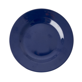 RICE melamine lunchbord - Midnight Blue