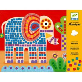 DJECO mozaïek - de olifant en de slak 4 jr. +