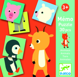 DJECO Memo Animo Puzzle 3 jr.  +