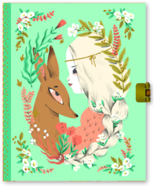DJECO Lovely Paper - Secrets Notebook Lucille