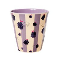 RICE beker - Blackberry Beauty print (AW21 collectie)