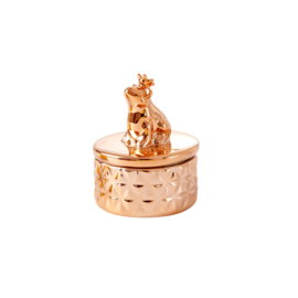 RICE klein sieradendoosje met kikker - brons
