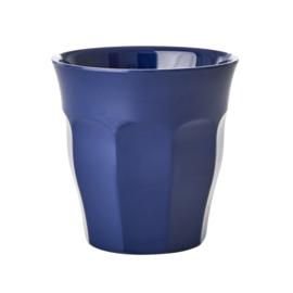 RICE melamine beker - navy blue (nieuwe collectie Herfst/ Winter 2019)