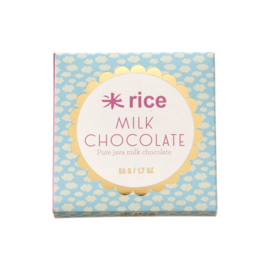 RICE Java Milk Chocolate - 50 gram