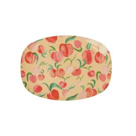 RICE melamine schaal klein - peach print (nieuwe collectie 'Choose Happy' 2021)