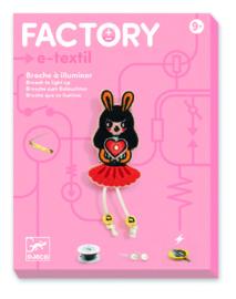 DJECO Factory art & technology - 9 jr. +