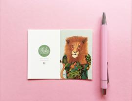 Illeke minikaartje Morzan de Leeuw
