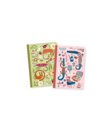 DJECO Lovely Paper - 2 small notebooks Asa