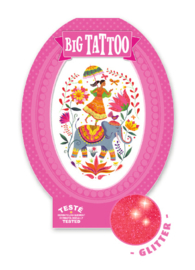 Tattoos - Big Tattoo - Rose India  6 jr. +