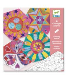 DJECO speciale kleurplaten - Mandala 6 jr. +