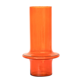 Urban Nature Culture - vaas - gerecycled glas - oranje