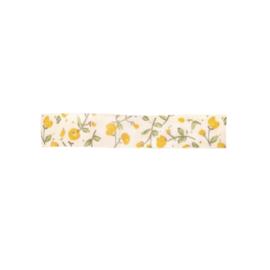 RICE inpaklint - Yellow Flower