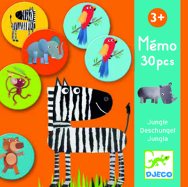DJECO Memo Jungle 3 jr.  +