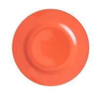 RICE melamine lunchbord - Burnt Orange (AW21 collectie)