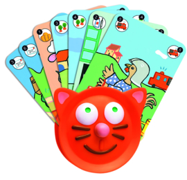 DJECO speciale kaarthouder voor kids 3 jr. +