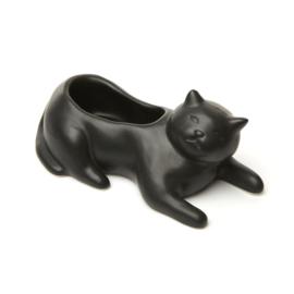 Kikkerland Bloempot 'Cosmo the Black Cat'