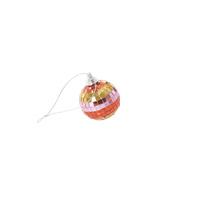 RICE discobal small (5cm) - goud met strepen