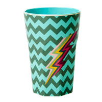 RICE beker tall - ZigZag print (AW21 collectie)
