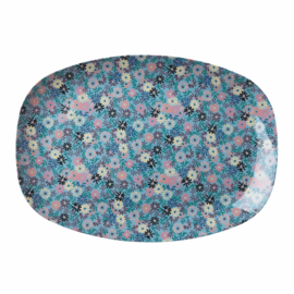 RICE melamine groot bord - Small Flower print