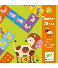 DJECO Domino Boerderij  -  3 jr.  +