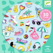 DJECO 30 glitter stickers - California 4 jr. +