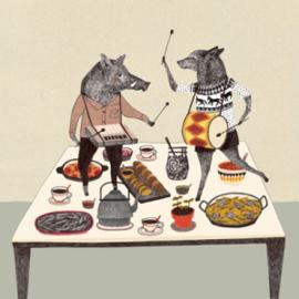 Liekeland kaart - Dansende dieren