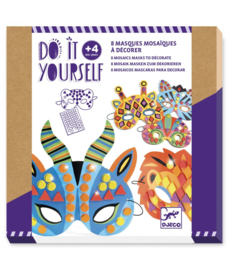 DJECO DIY Maskers - Jungle dieren  -  4 jr. +