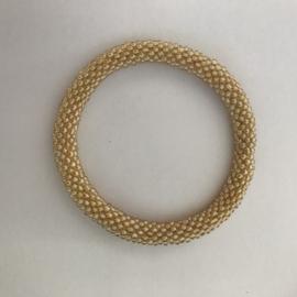 Loffs armband - geel/ goud