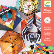 DJECO Paper Crafts - Flexanimals  7 jr. +