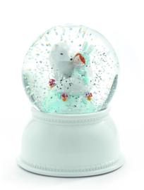 DJECO sneeuwbol nachtlampje - Lila & Pupi