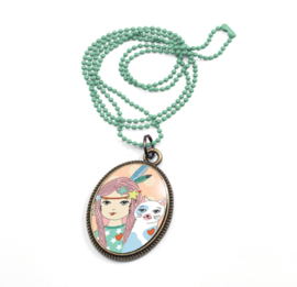 DJECO Ketting Lovely Sweet - Feather - 4 jr+