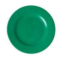 RICE melamine lunchbord - Dark Green (AW21 collectie)